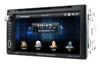 Power Acoustik Pd-651b Dvd/cd/mp3 Player 6.5 Touchscreen Bluetooth Front Usb