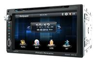 Power Acoustik Pd-651b Dvd/cd/mp3 Player 6.5 Touchscreen Bluetooth Front Usb