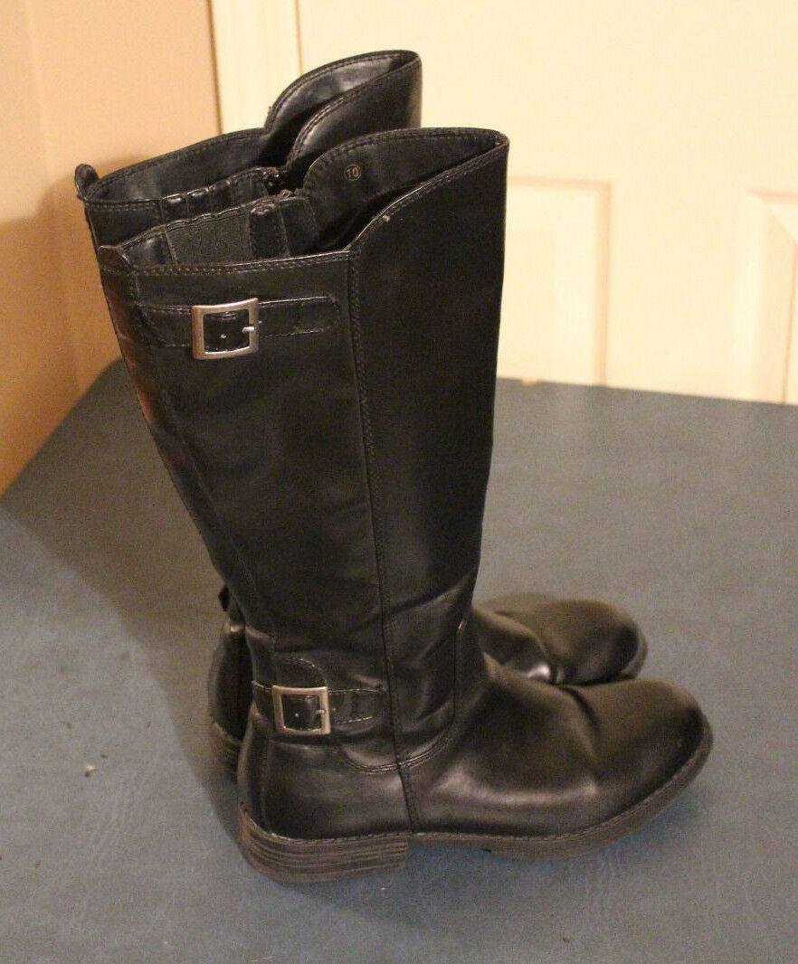 Candie's Womens Riding knee boots Black size 10M 73277