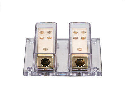 Hot Selling 2X4 GAUGE TO 8 X 8 GAUGE POWER/GROUND DISTRIBUTION BLOCK SKPD-12