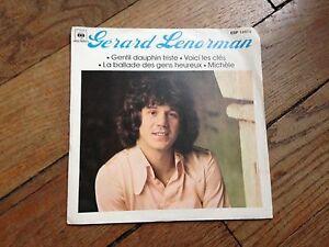 gerard-lenorman-45-tours-4-titres-gentil-dauphin-voici-les-cles-la-ballade-des
