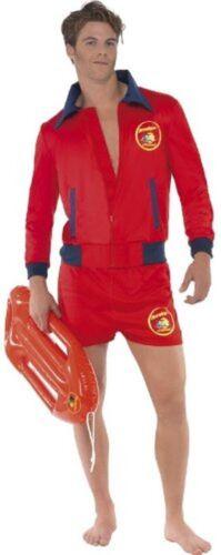 Karneval Herren Kostüm Baywatch Rettungsschwimmer Malibu Größe M Smi