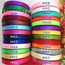 FD739 25 Yards Candy Colors Satin Ribbon Wedding Party Decoration Sewing~1 Roll☆