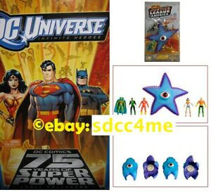SDCC-Exclusive-Justice-League-vs-Starro-Action-Figures-w-Bonus-MIB-New-Sealed