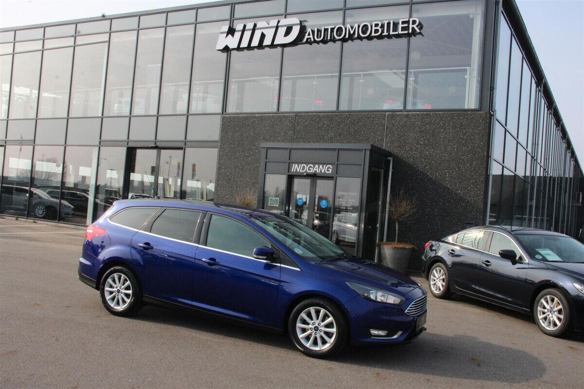 Ford Focus 2,0 TDCi 150 Titanium stc. aut. 5d - 179.900 kr.