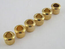 "KLUSON Machine Head GOLD Adaptor Bushings 1/4"" I.D. MB65G-L US"