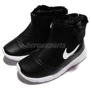 0c06cb2acc82b Nike Tanjun Hi TDV Black White Infant Baby Toddler Boots Sneakers ...