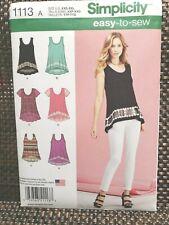 A XXS-XS-S-M-L-XL-XXL Simplicity Sewing Pattern D0958 // 8656 Misses Knit Skirt and Top