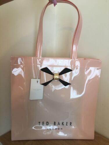 génial sac «bowicon» avec un rose noeud Ted icône à Grand Baker cadeau fwPx1qO1B