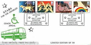 1981 Disabled - Stars Official - Cat £35 !!