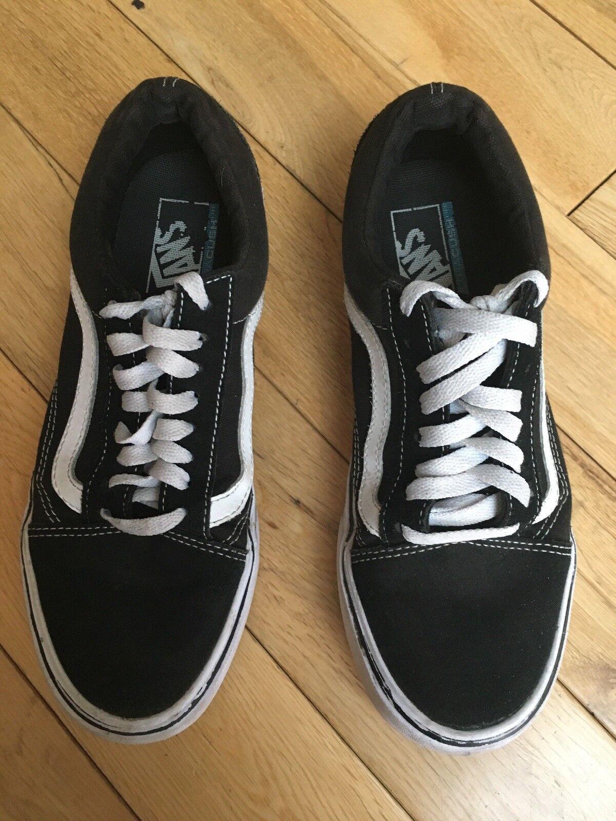 Black Old Old Black Skool Lite Vans Size 87784e