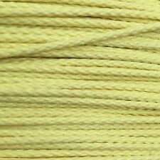 1.7mm 400lb Yellow Kevlar Braid Speargun Band Constrictor Cord /Line 250ft Spool