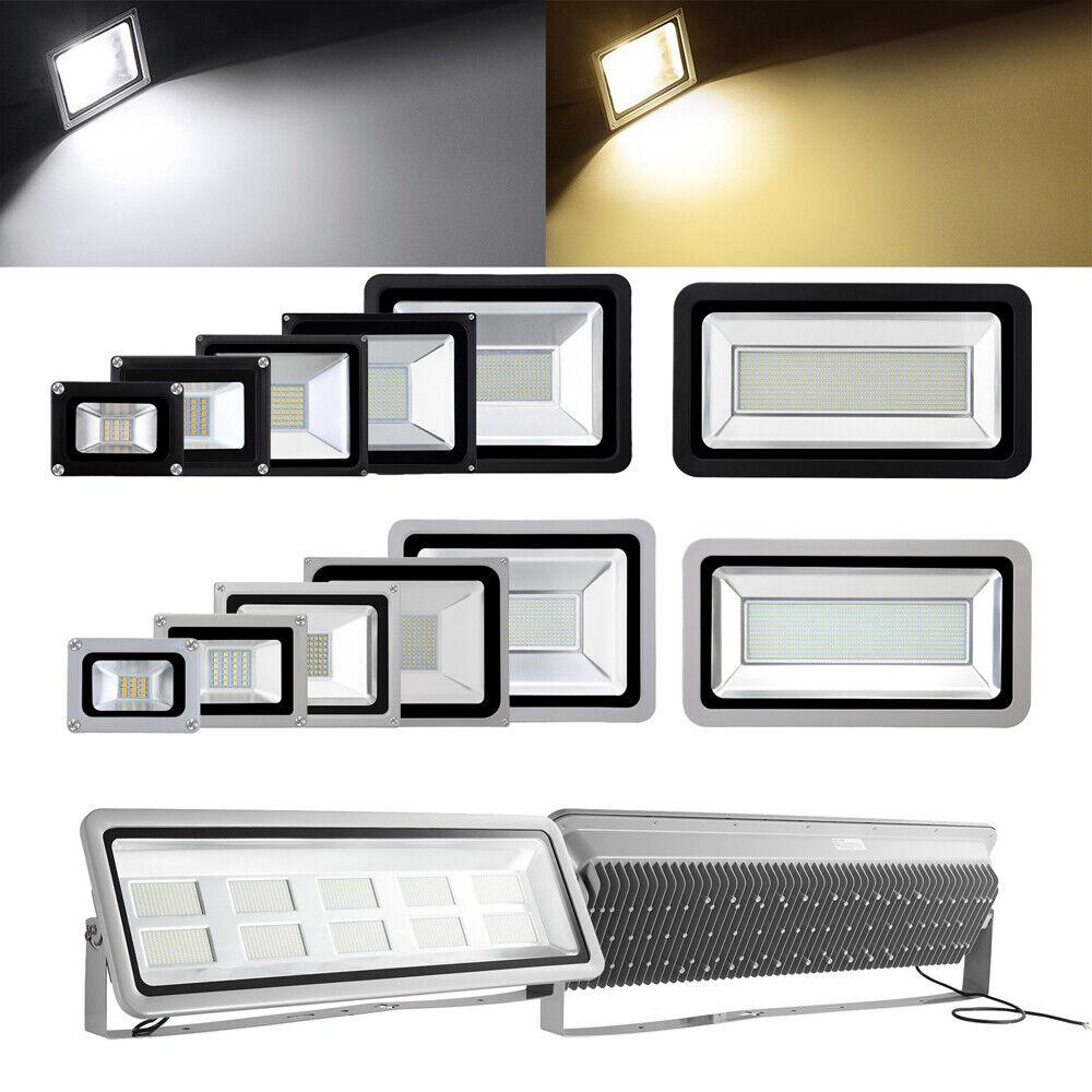 10W 20W 50W 100W 500W 1000W LED Fluter Flutlicht Außenstrahler Scheinwerfer IP65