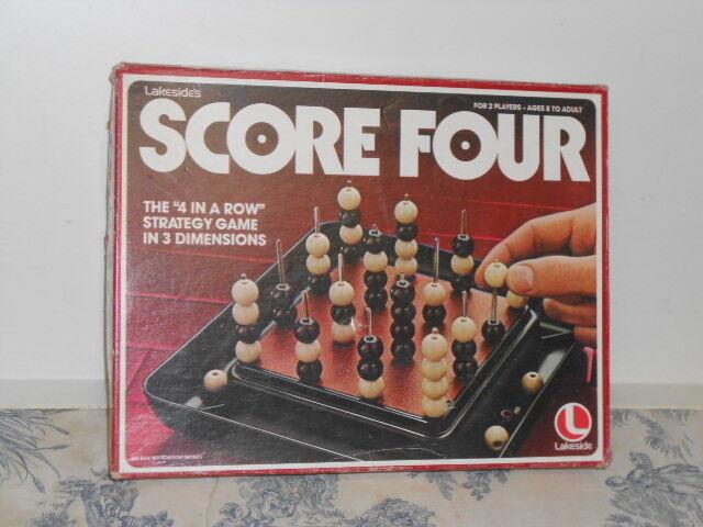 Vtg. 1978 Lakeside's Score Four Game