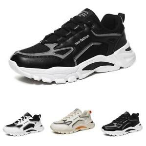 Mens Fashion Sneakers Shoes Soft Gym