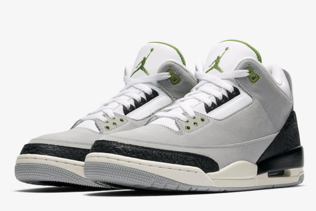Air Jordan 3 Retro Chlorophyll Mens