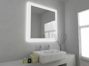 led bathroom mirrors with demister and shaver socket led illuminated bathroom mirror with sensor shaver and 26447