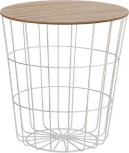 Design Beistelltisch Weiss Holz Deko Tisch Couchtisch Sofatisch