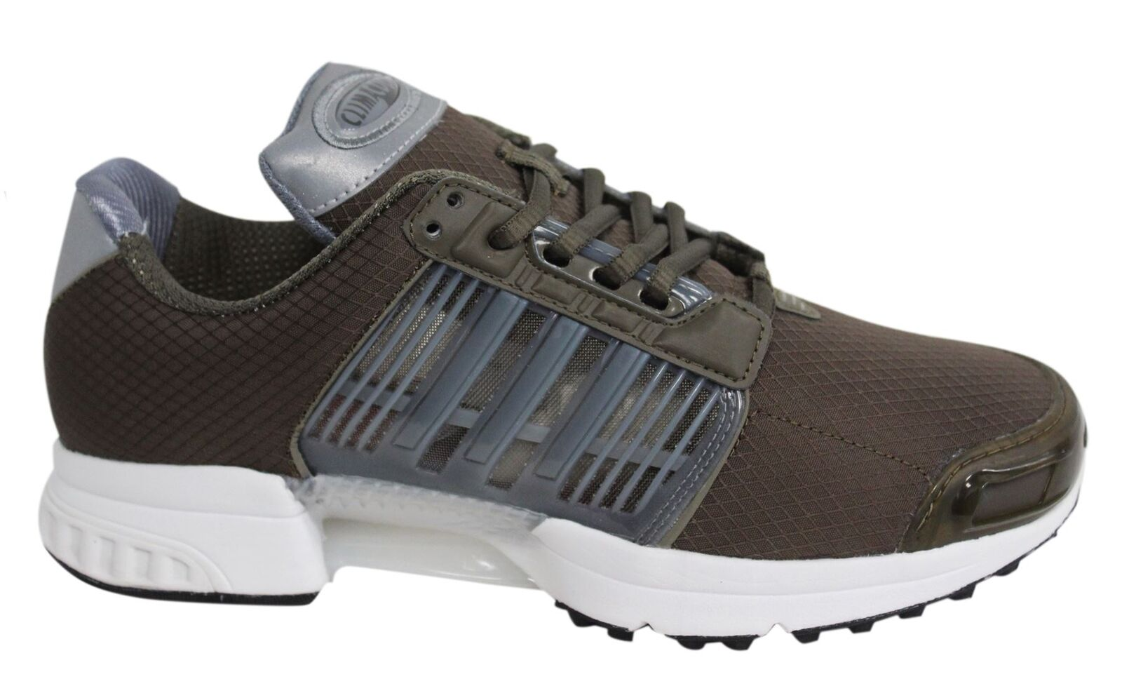 Adidas Originals Climacool 1 Lace Up Brown Textile Mens Trainers BA7155 U88