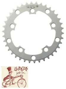 ORIGIN8 BLADE 130mm 5-BOLT 50T SILVER ALLOY BICYCLE CHAINRING