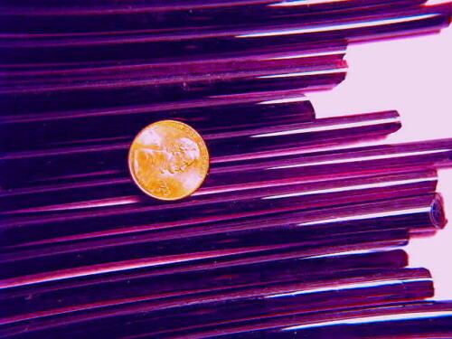 1lb Devardi Glass Rods Lampwork COE 104 Tr xDrk Violet