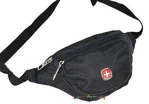 Schweizer-Kreuz-Bauchtasche-Guerteltasche-Wandern-Nordic-Walking-Inlineskate