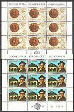 Yugoslavia1983 Sc1626-7 Mi1984-5 2MS mnh Europa-I.Andric,Poet,Nobel Prise Winner