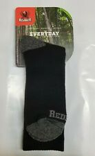 NEW Redback Boots Black Coolmax Socks Medium 5 Pairs Made USA~Free Shipping2USA
