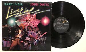 Daryl Hall John Oates - Livetime - 1978 LP   Vinyl- Rich Girl