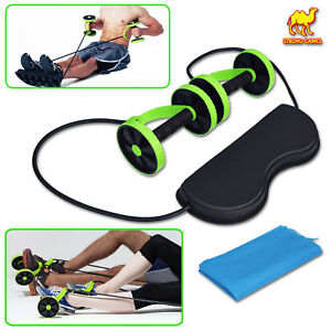 Home-Gym-Abs-Roller-Exercise-Body-Fitness-Abdominal-Training-Workout-Machine