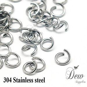 100-x-8mm-stainless-steel-jump-rings-connectors-jewellery-findings