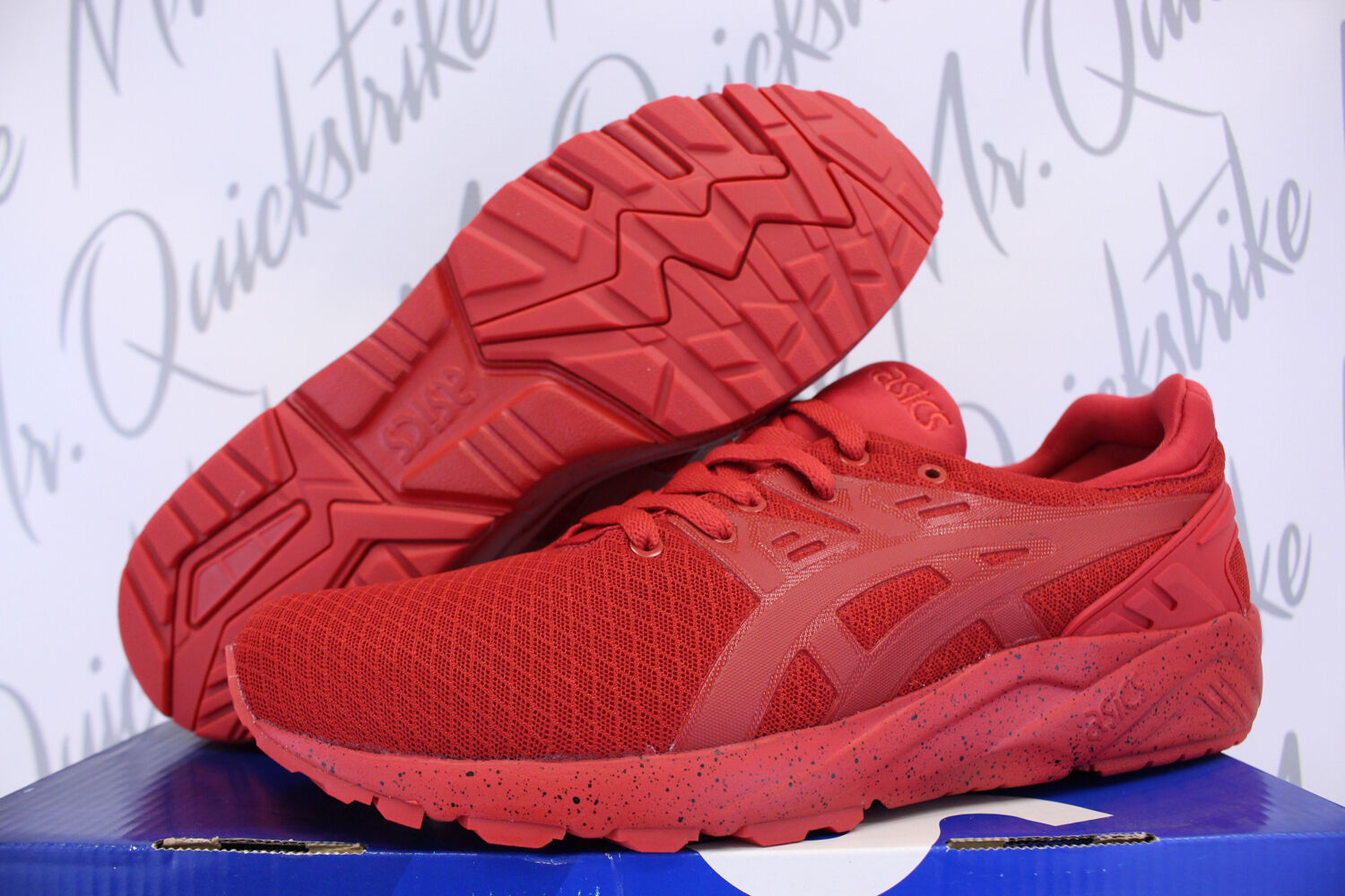 ASICS GEL KAYANO TRAINER SZ 12 MONOTONE PACK MONO RED H6M4N 2525