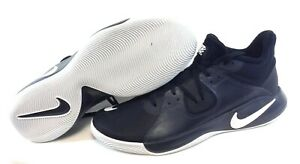 Mens-Nike-Fly-By-Mid-CD0189-001-Black-White-Basketball-Sneakers-Shoes