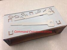 Radio Shack GRE GRECOM Scanner DIN Mounting Bracket Pro197 Pro163 PSR400 PSR600