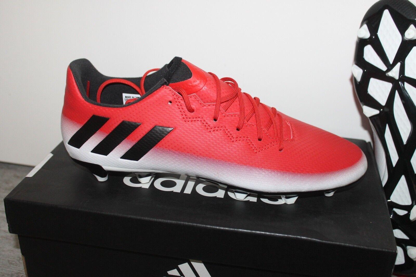 92e786f232b Adidas Messi 16.3 FG Fútbol Hombre leva Todos Las sizes red whiteo black  NUEVO