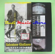 film VHS cartonata SALVATORE GIULIANO Francesco Rosi L'UNITA' 118min(F80)*no dvd