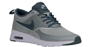 Zapatos promocionales para hombres y mujeres NUEVA, Para Dama Nike Air Max Thea Zapatos Talla:5 COLORES: Plata Claro