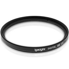 58mm UV Filtro Lente Ultravioleta Protector para Canon Nikon Sony Pentax