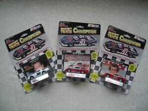 Racing-Champions-Harry-Grant-Rusty-Wallace-amp-Mark-Martin-1-64-Die-cast-NIB