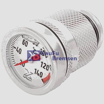 Öl Thermometer analog KTM 690 ab 2007 analoge Öl Temperatur Anzeige chrom