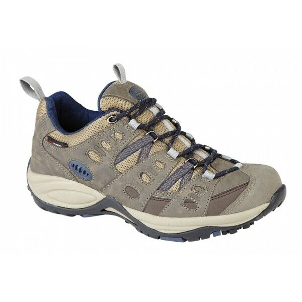 96943252960 Johnscliffe KATHMANDU Mens Comfort Cosy Waterproof Trekking Shoe Brown/Navy  Blue