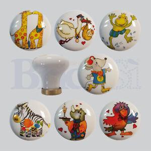 Pomelli in ceramica Pomoli Porcellana per cassetti Pomolo ...