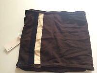 Osklen Scarf Brown Striped