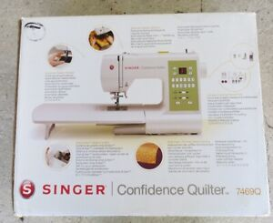 SINGER 7469Q CONFIDENCE COMPUTERISED QUILTER SEWING MACHINE NEW IN BOX INC DVD