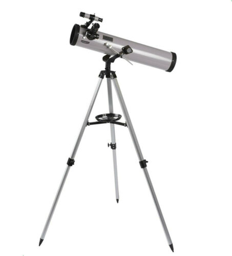 Refractor Astronomy Telescope 76 x 700 with Adjustable Tripod Lens Cover UK