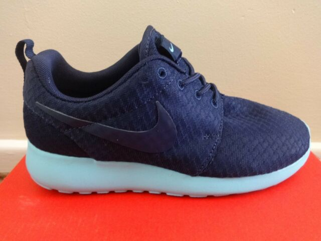 womens nike roshe run shoes navy white