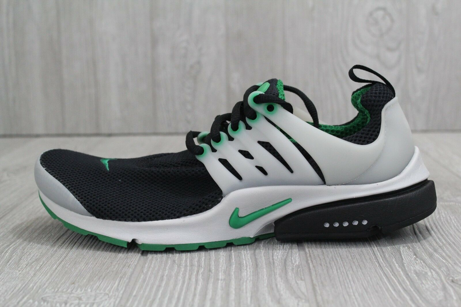 Brand discount 30 New Nike Air Presto Essential Black/Green Running Shoes 848187 003 Men's 8-11