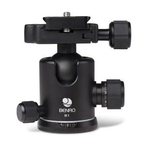 Destockage-30-BENRO-B1-Tete-Rotule-a-friction-Plateau-PU60-Capacite-14kg