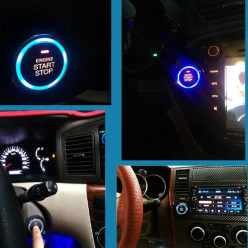 Start Push Button Remote Starter Keyless Entry 9pcs Car SUV Alarm System Engine