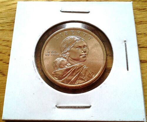 2015 D $1 Native American Sacagawea Dollar Uncirculated BU Denver Coin